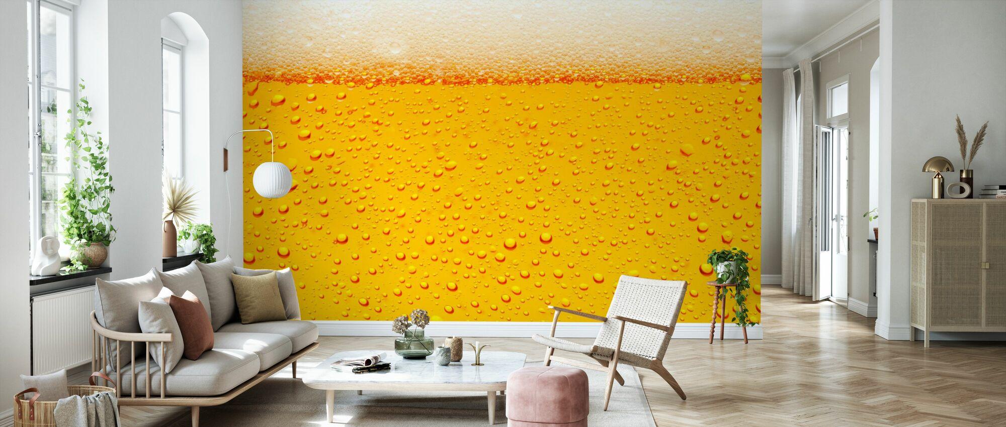Beer - Wallpaper - Living Room
