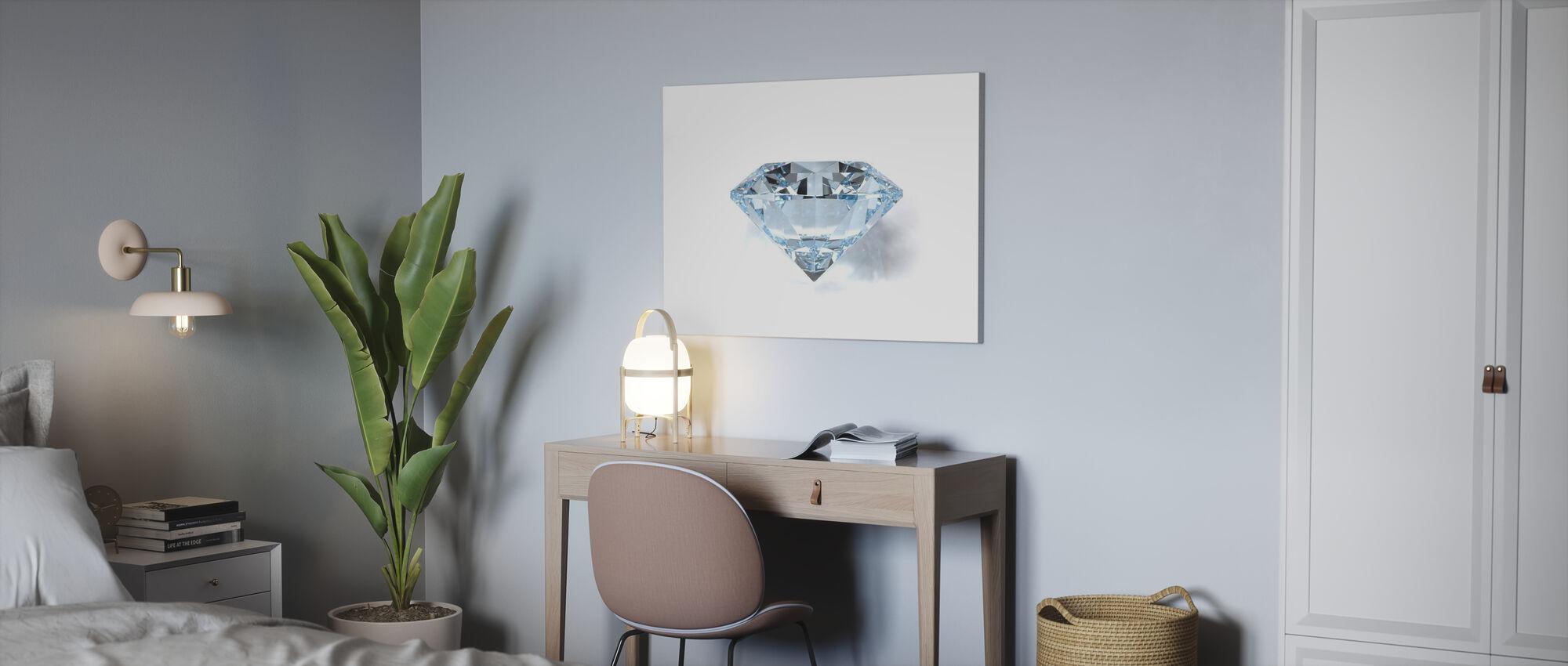 Diamant - Canvastavla - Kontor