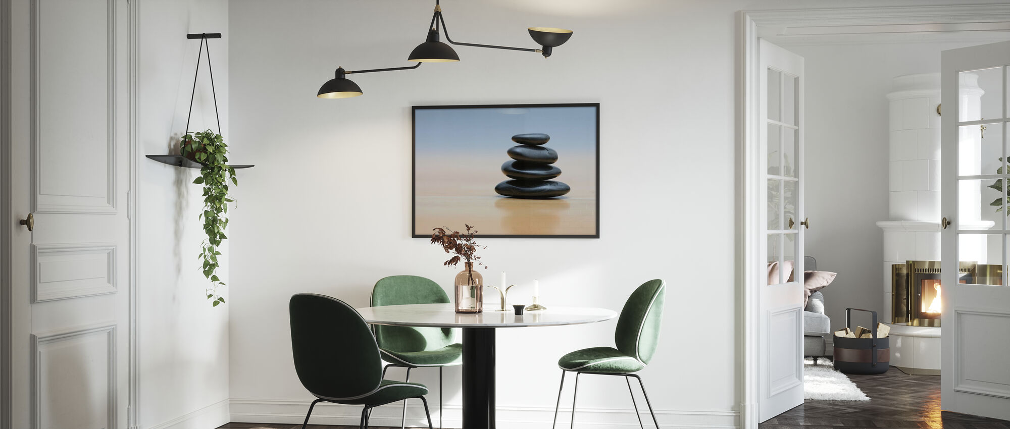 Zen Stones - Poster - Kitchen