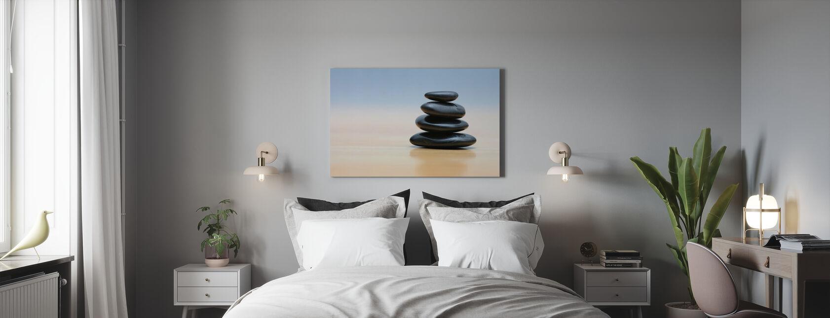Pietre zen - Stampa su tela - Camera da letto