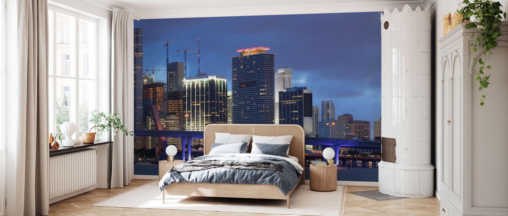 Miami, Florida - Tapete - Schlafzimmer