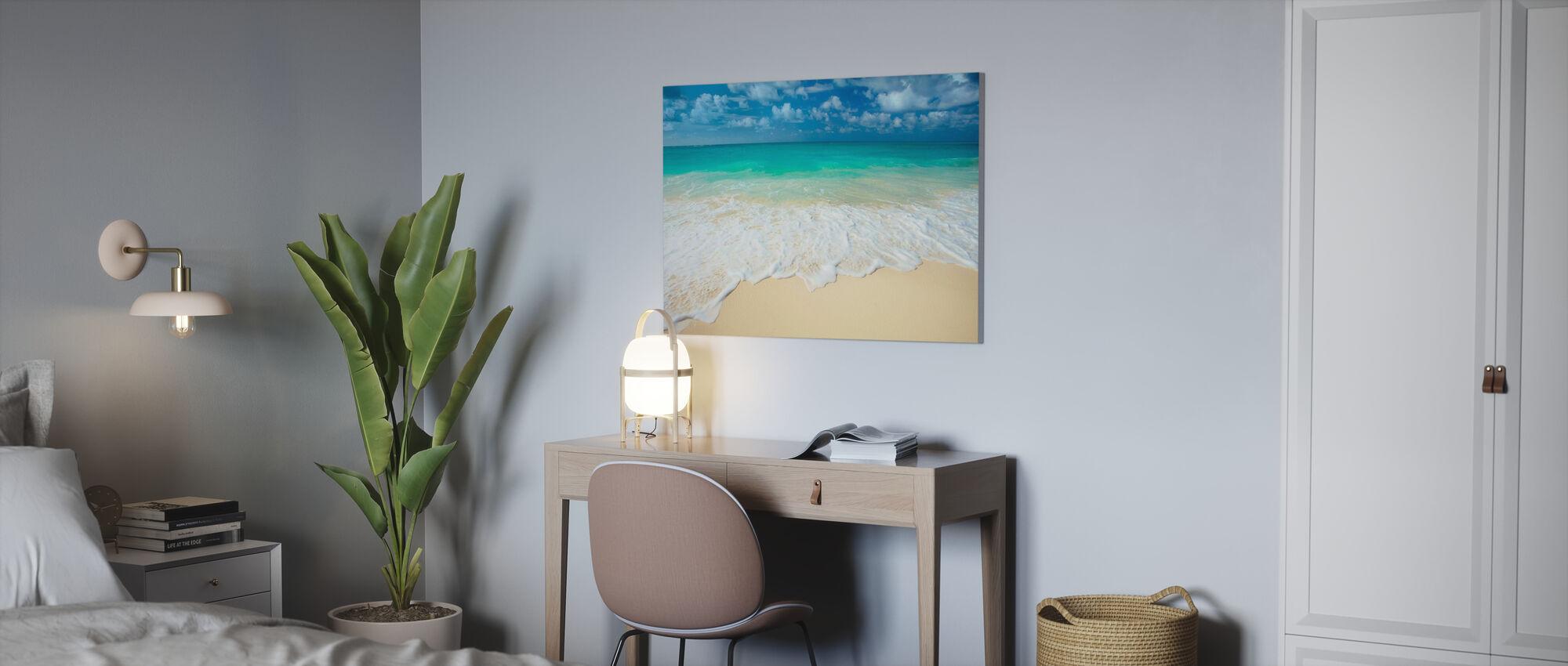 Paradise Sea - Canvas print - Office