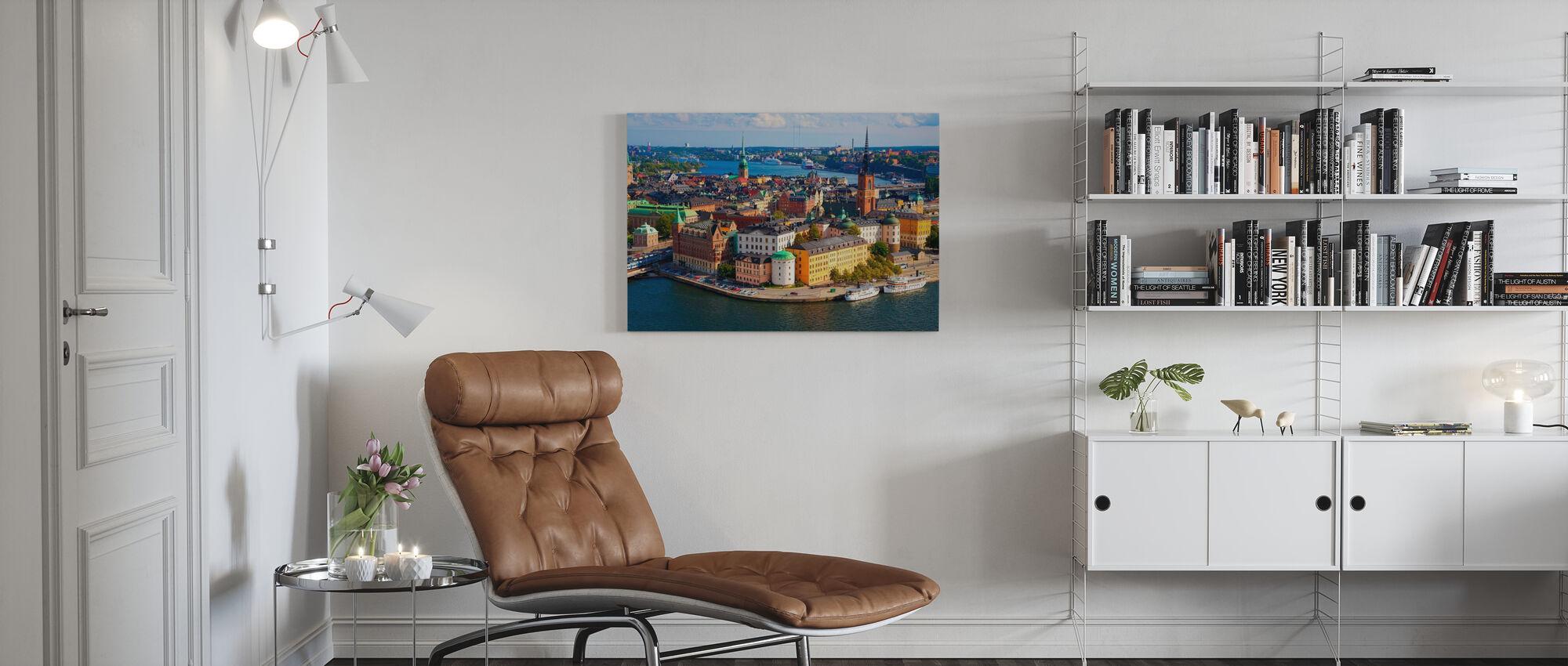 Stoccolma in luce - Stampa su tela - Salotto