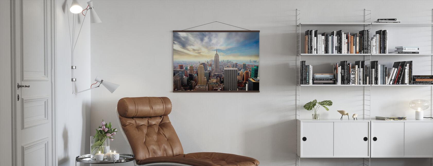 Förtrollande New York - Poster - Vardagsrum