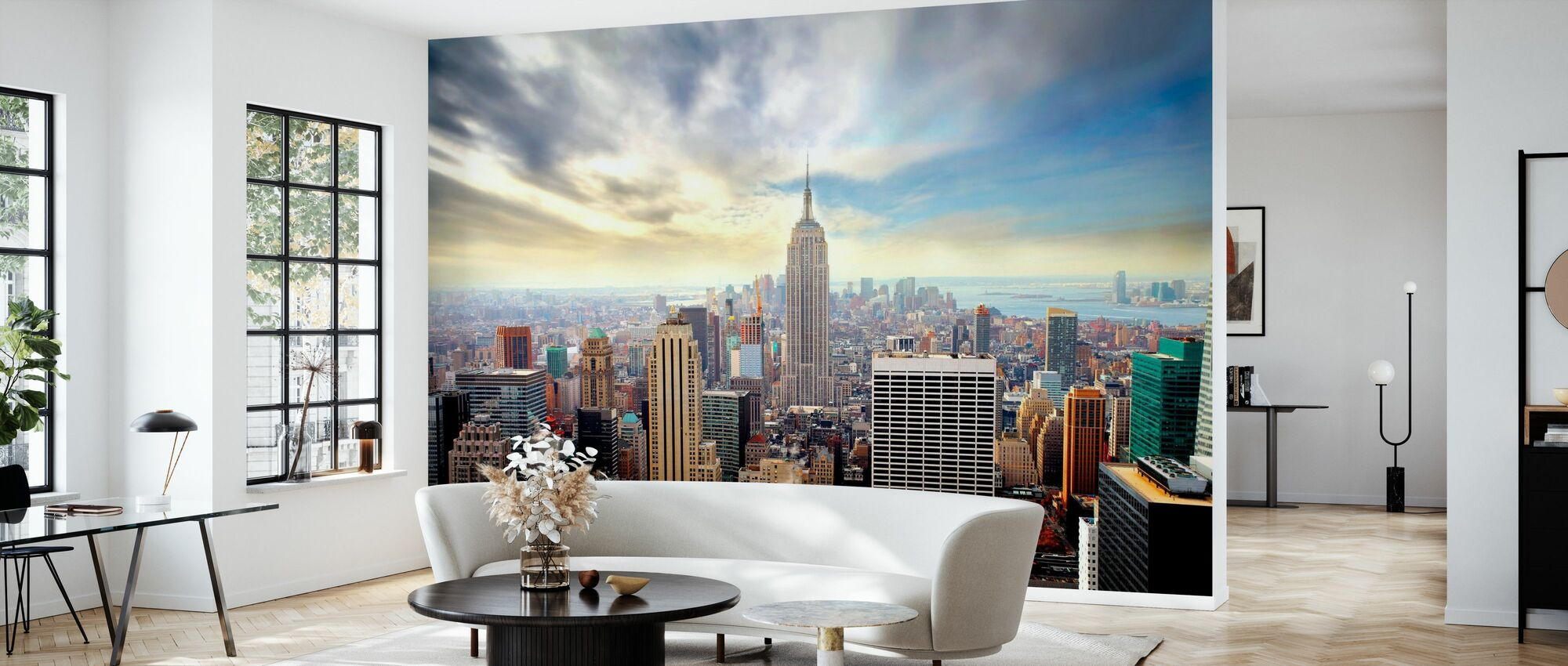 Betoverend New York - Behang - Woonkamer