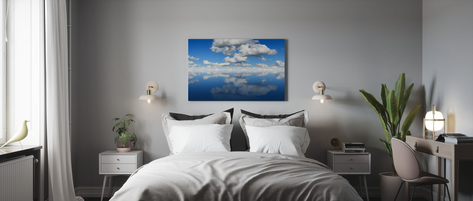 Mirror Sea - Canvas print - Bedroom