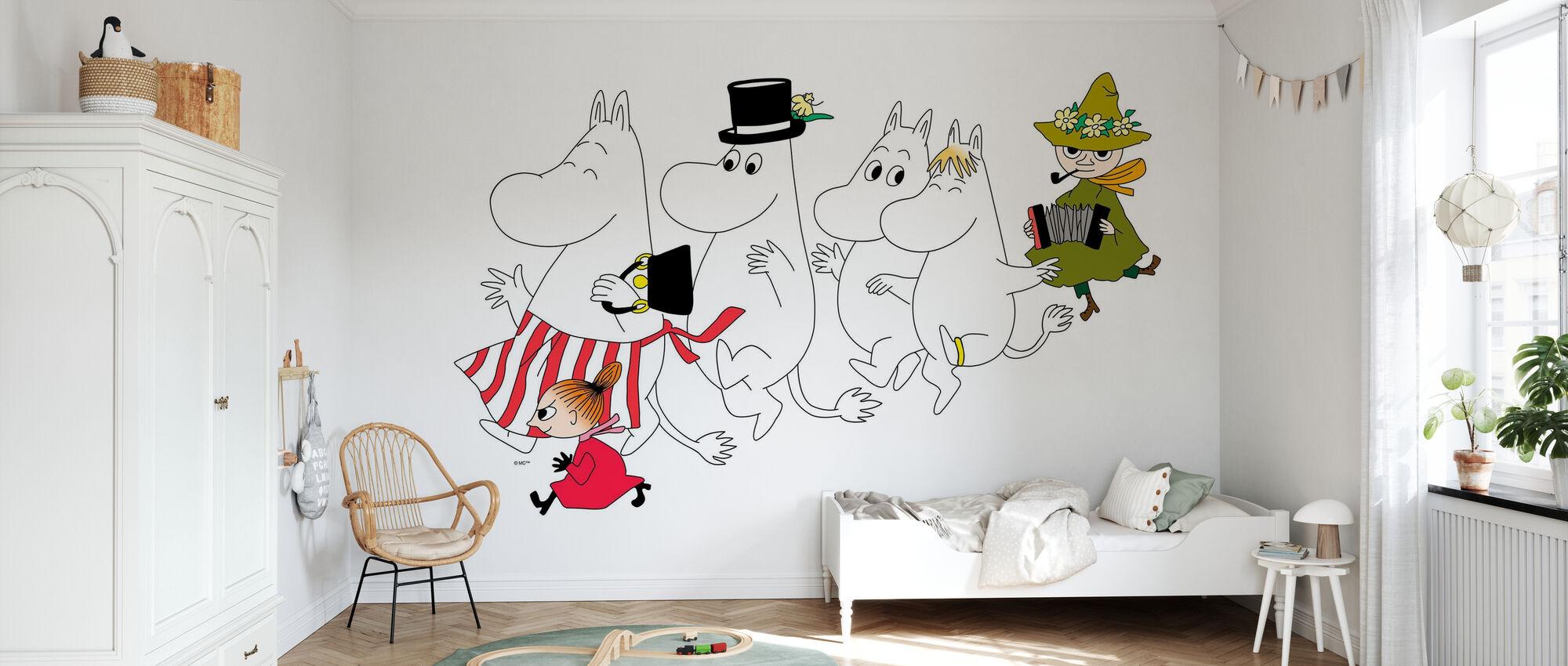 Moomin - The Moomins - Wallpaper - Kids Room