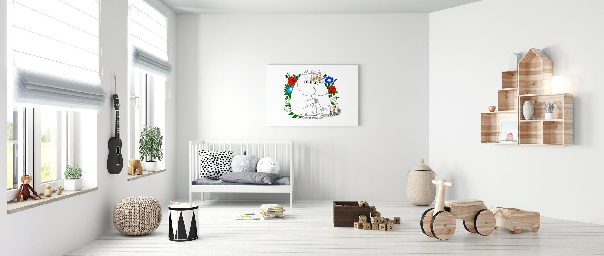 Moomin - Snorkmaiden - Canvas print - Nursery