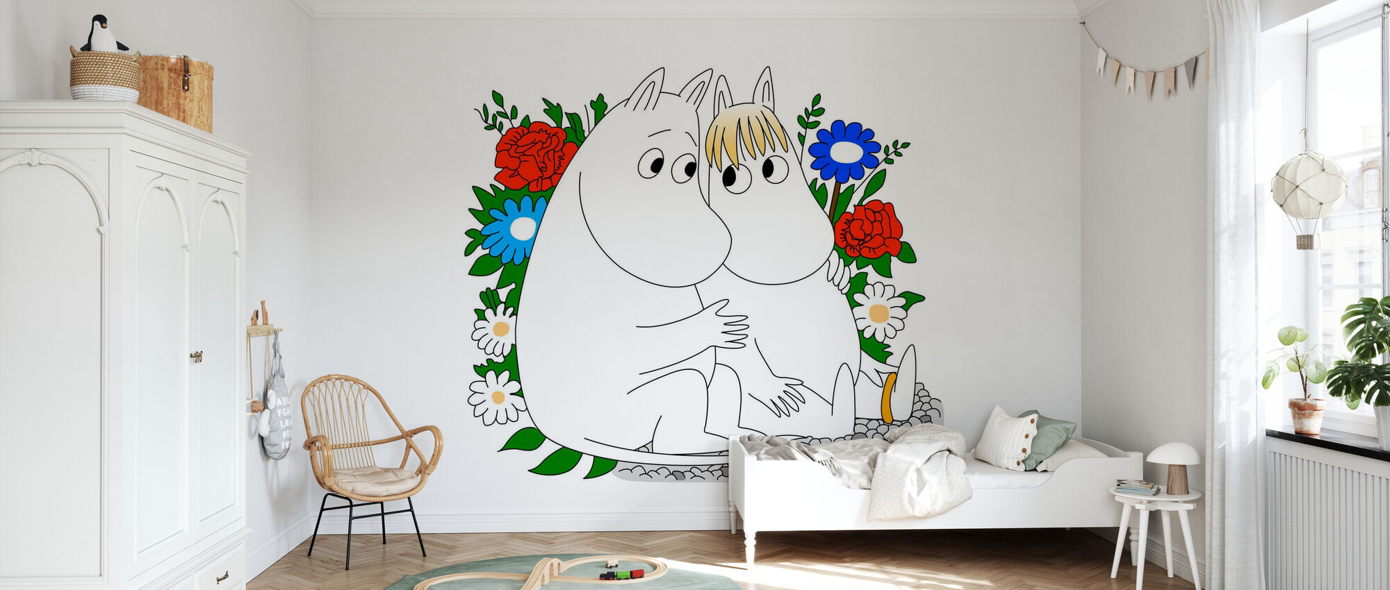 Moomin - Snorkmaiden - Wallpaper - Kids Room