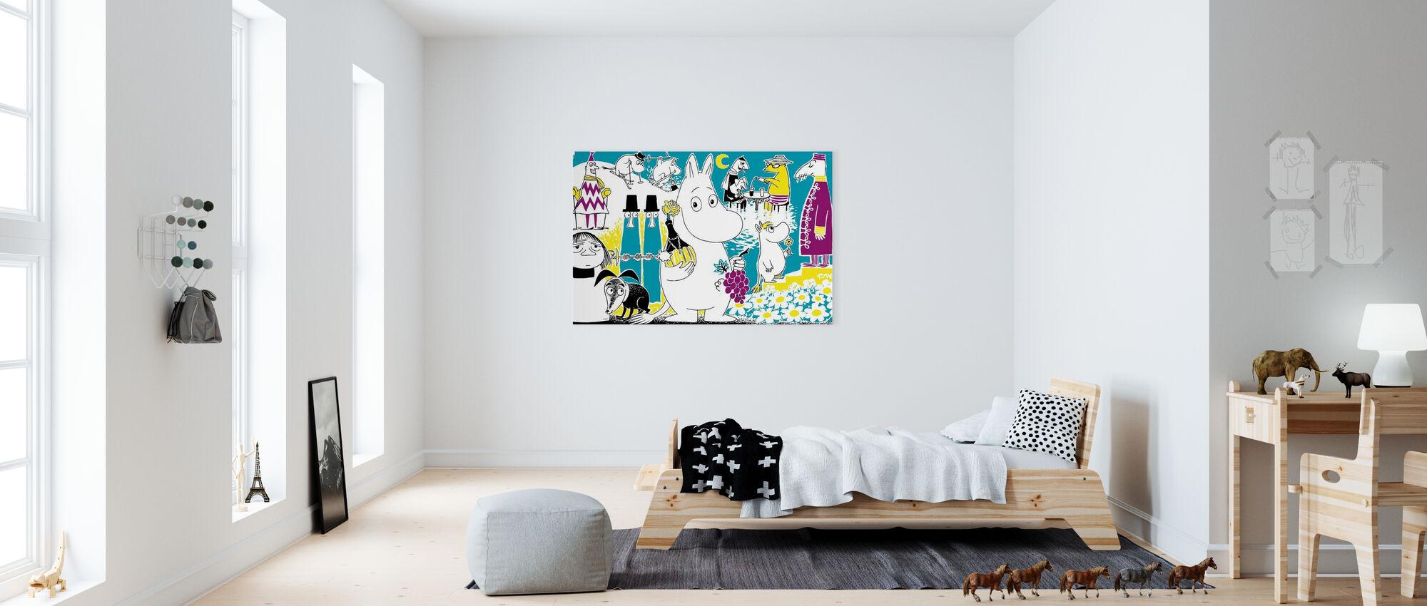 Moomin - Comic Book 2 - Canvas print - Kids Room