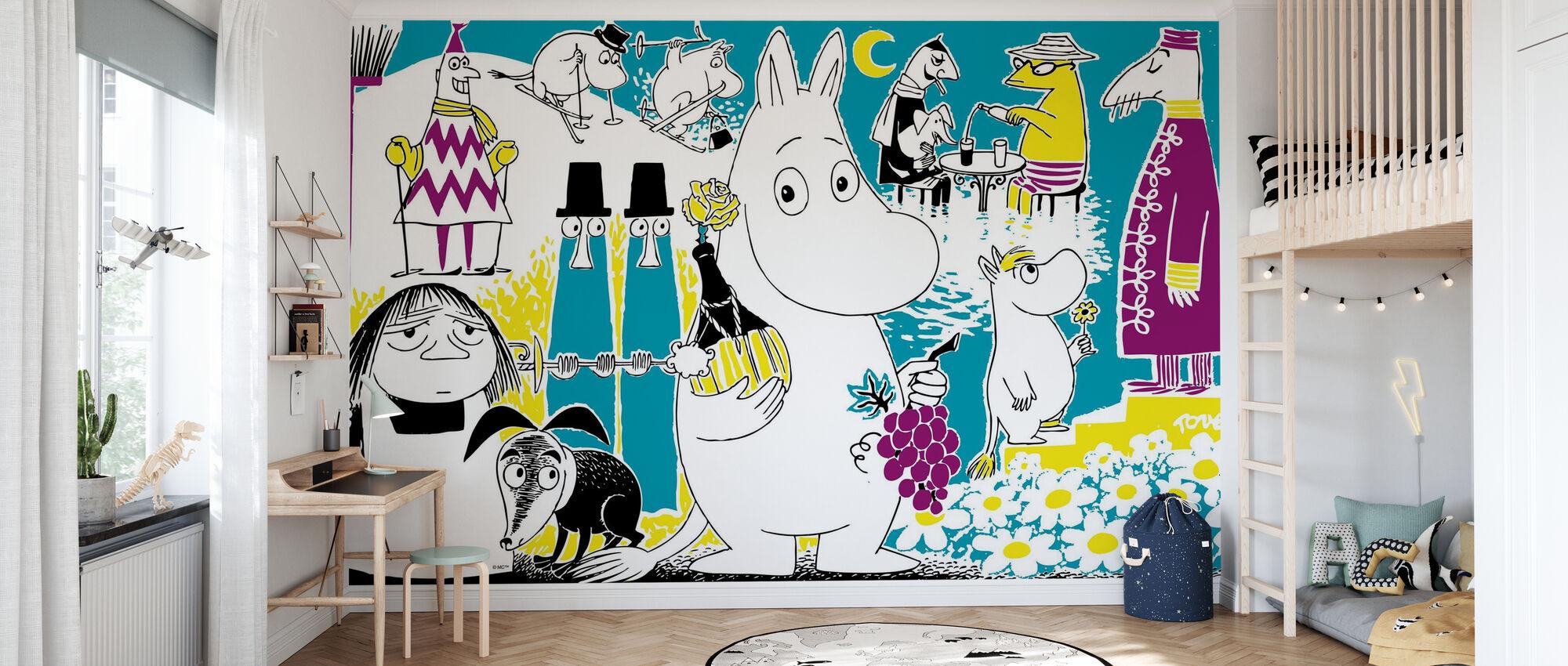 Moomin - Comic Book 2 - Wallpaper - Kids Room