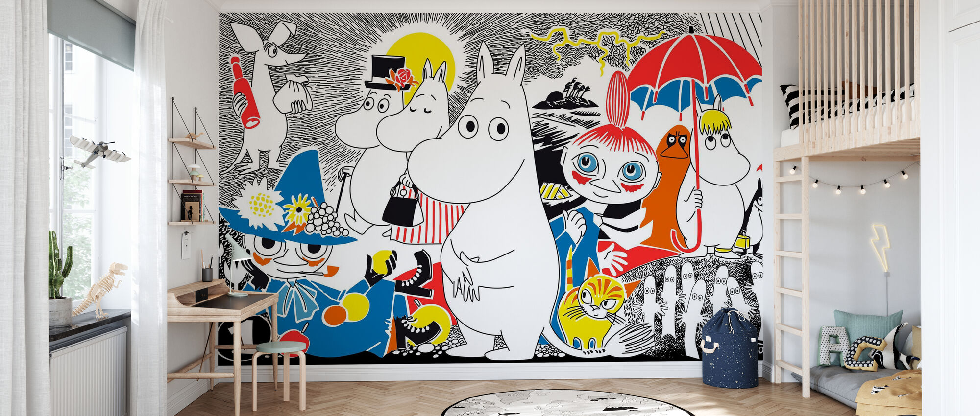 Moomin - Comic Book 1 - Wallpaper - Kids Room