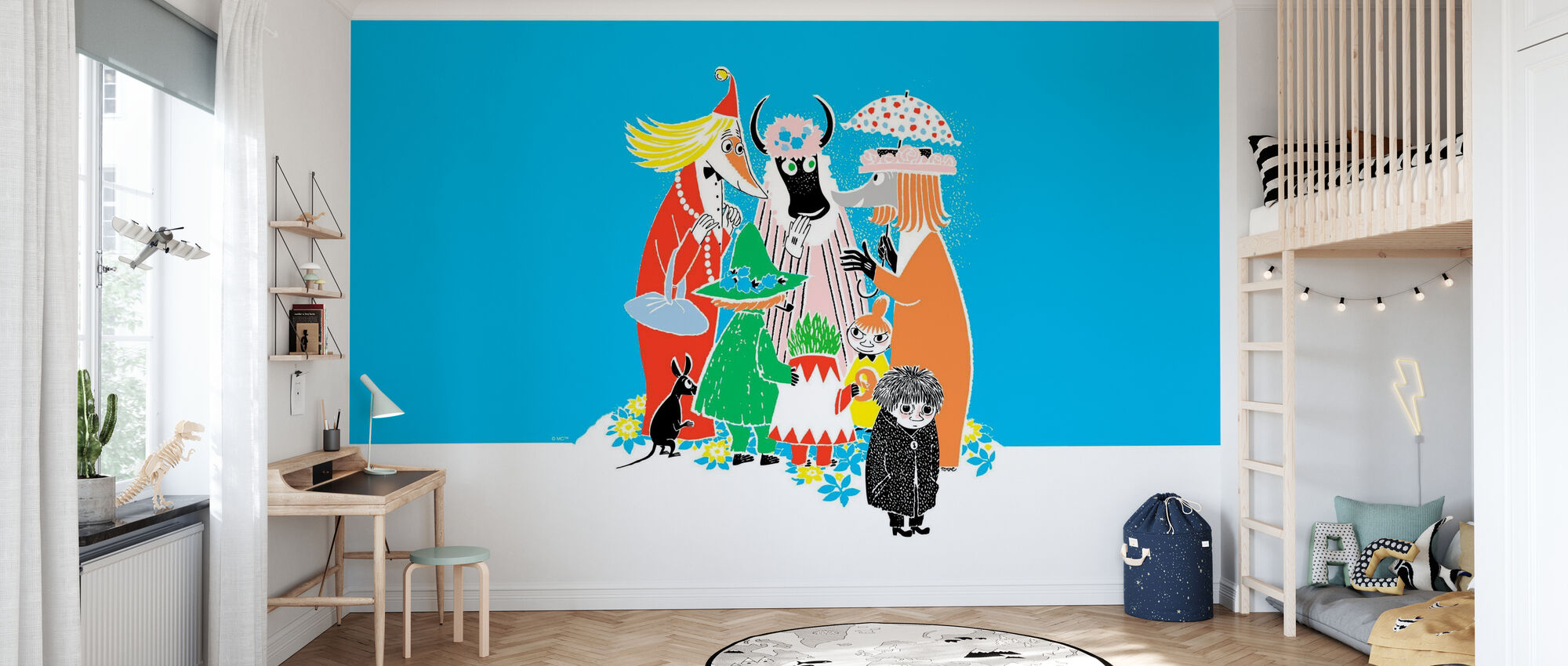 Moomin - Who will Comfort Toffle? - Wallpaper - Kids Room