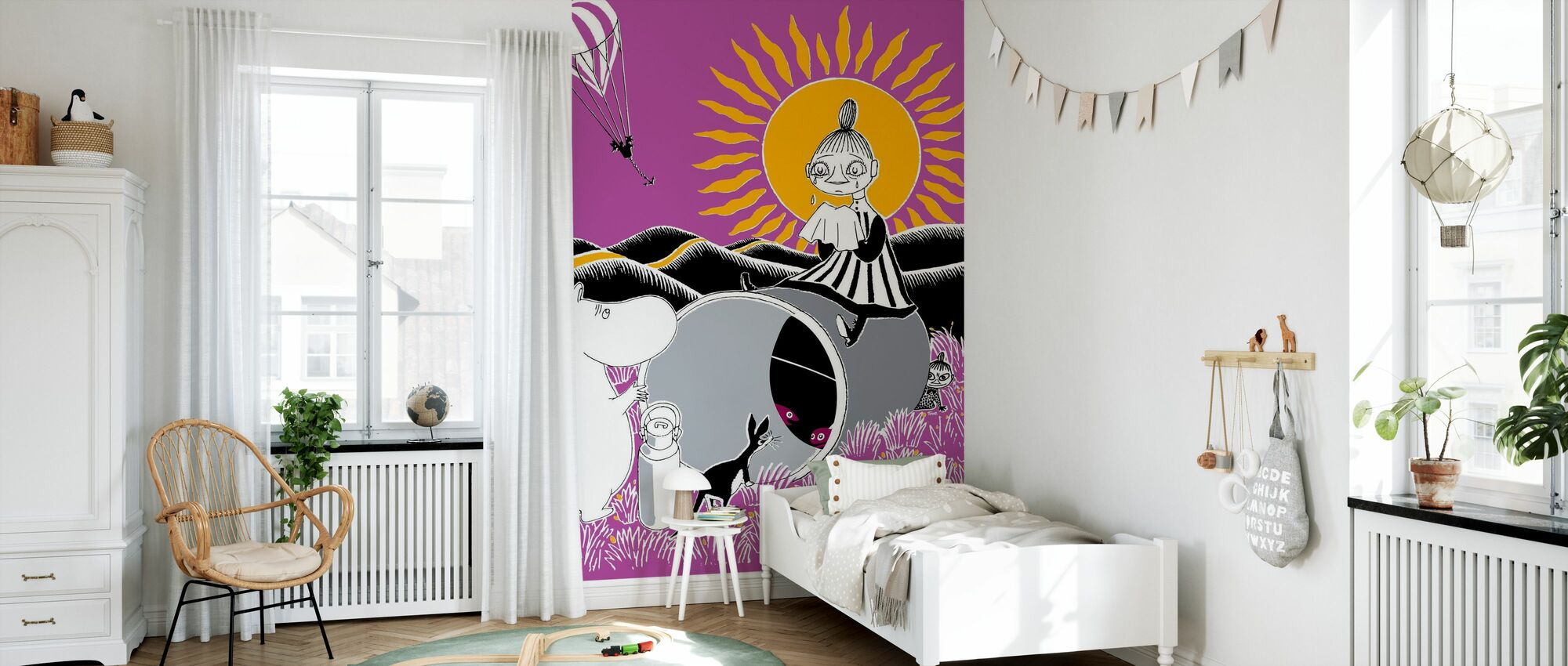 Moomin - Sunny - Wallpaper - Kids Room