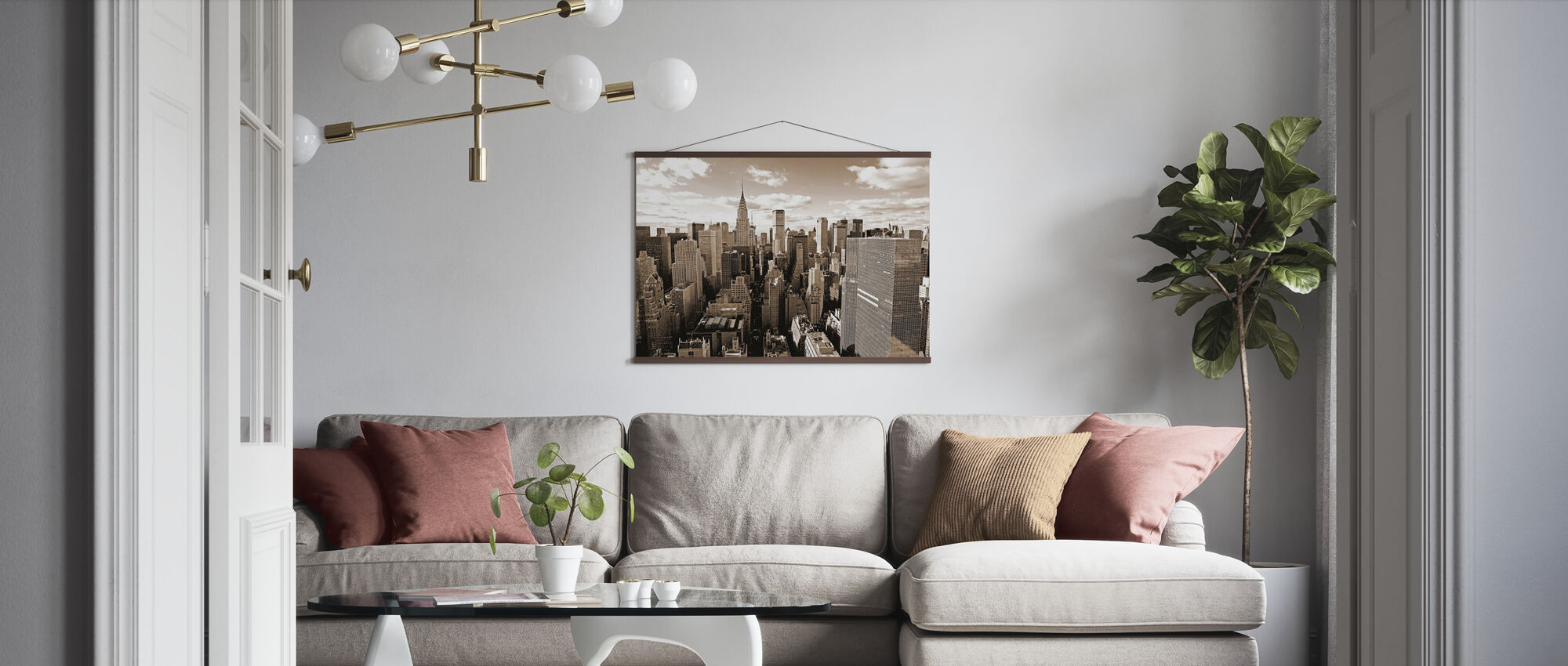 Over Manhattan - Plakat - Stue