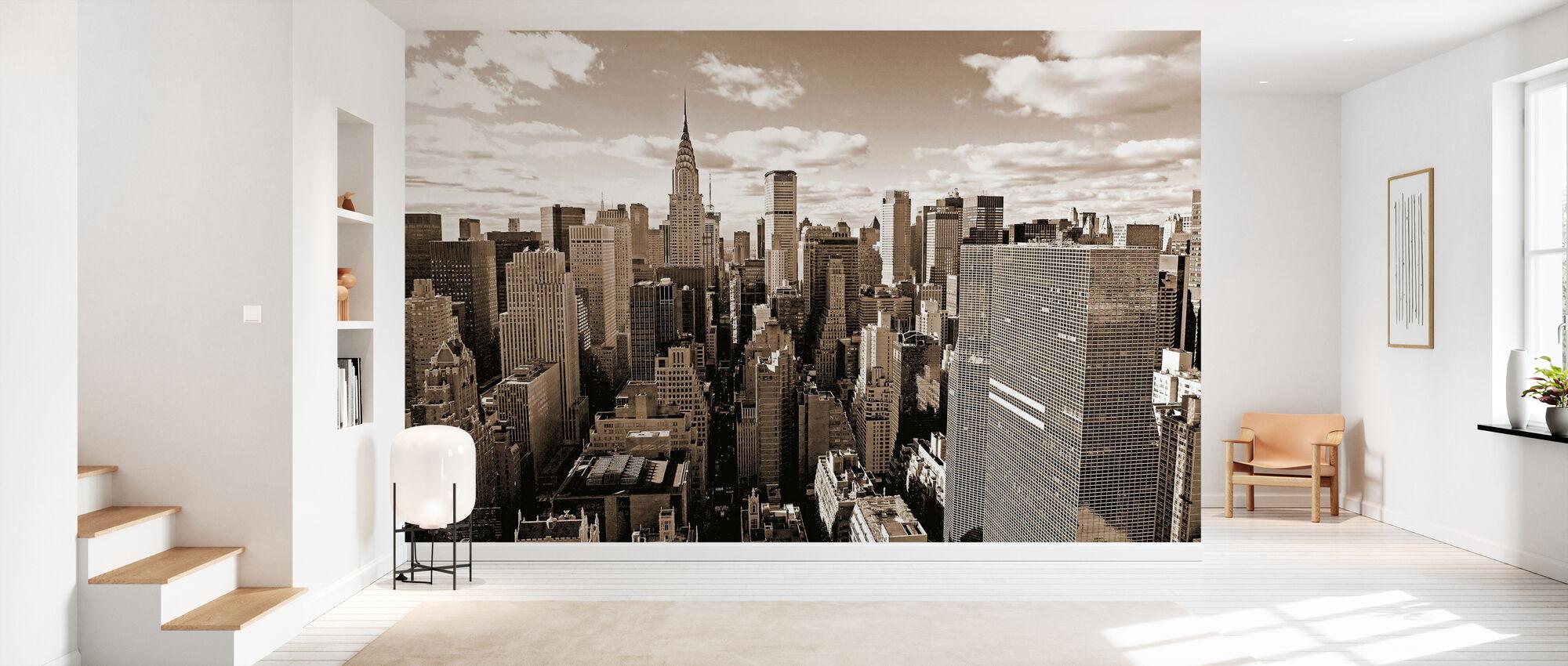 Above Manhattan - Wallpaper - Hallway