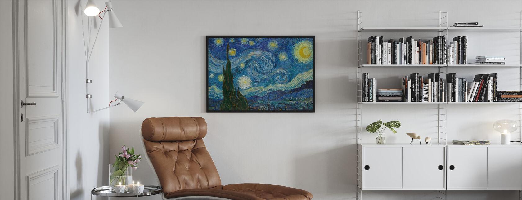 Vincent Van Gogh - Nuit étoilée - Affiche - Salle à manger