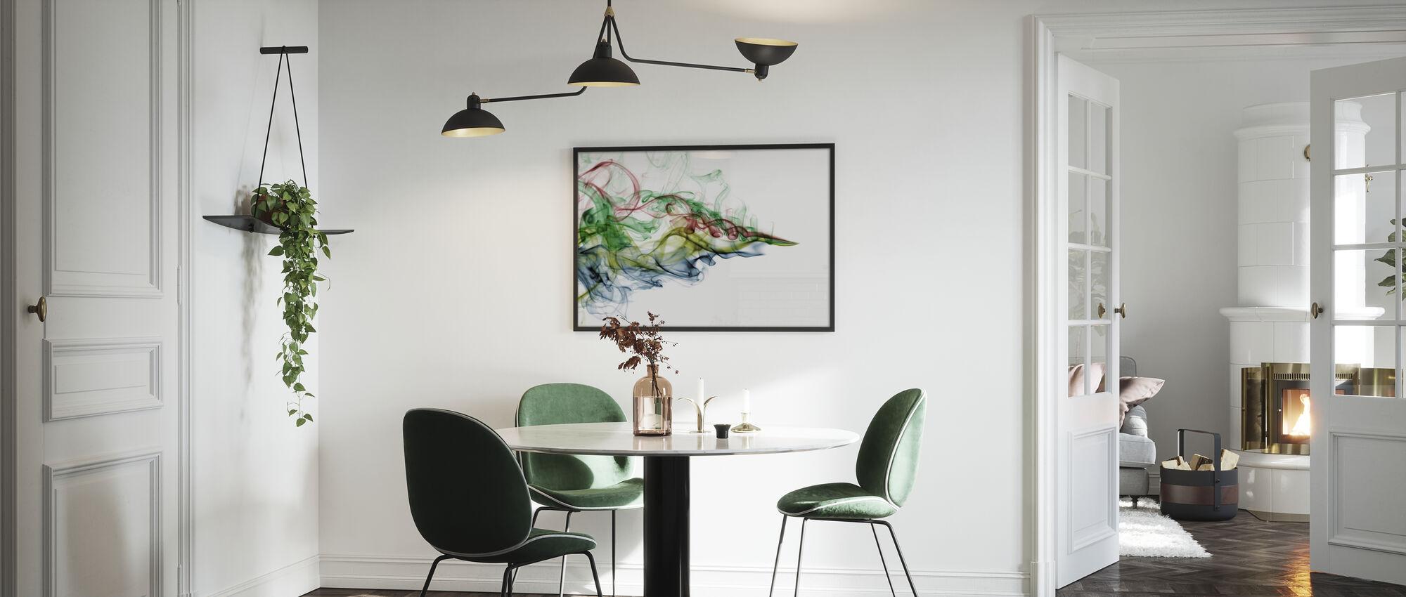 Color Smoke - Poster - Kitchen