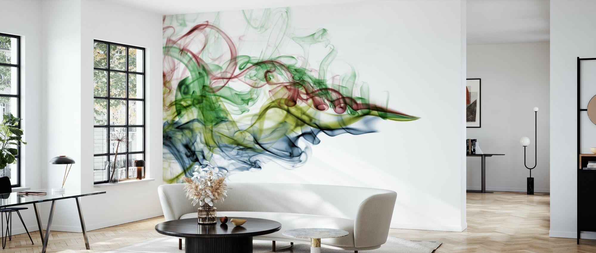 Color Smoke - Wallpaper - Living Room