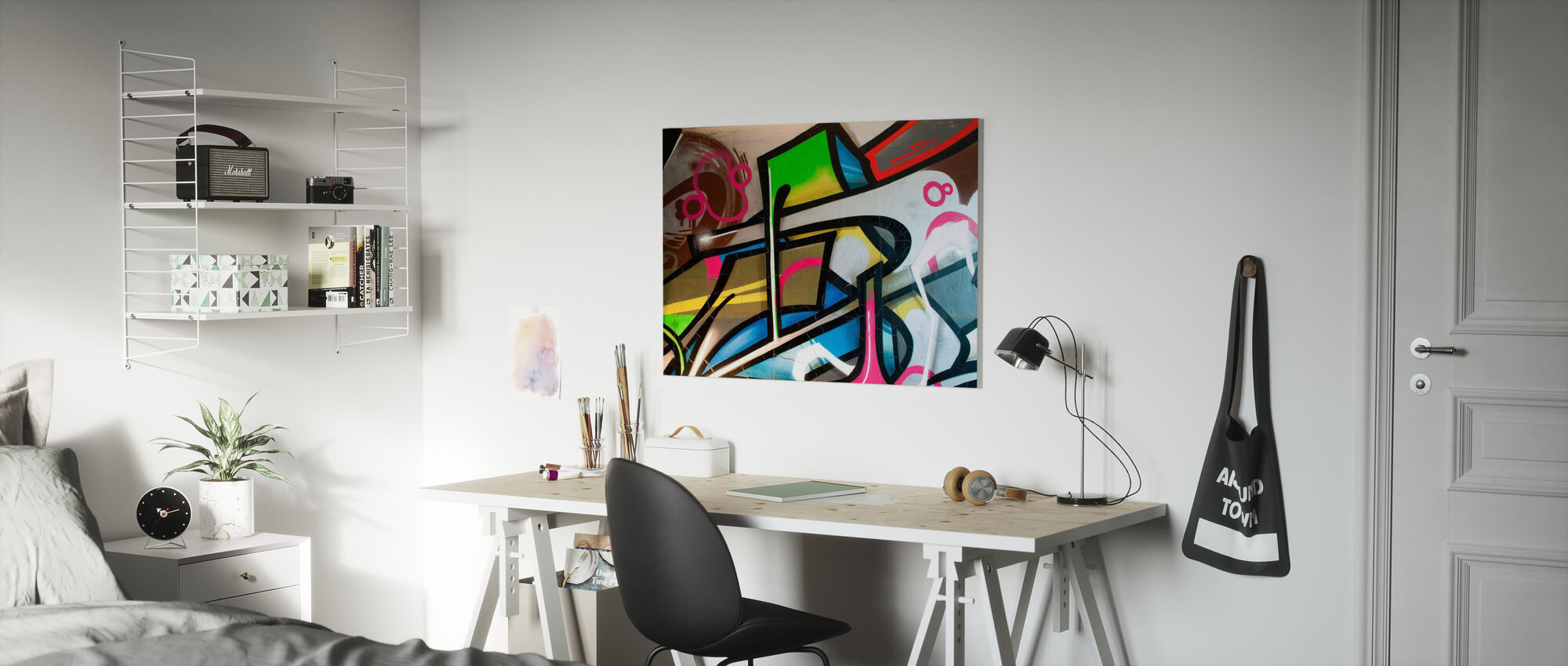 Colorful Graffiti - Canvas print - Kids Room