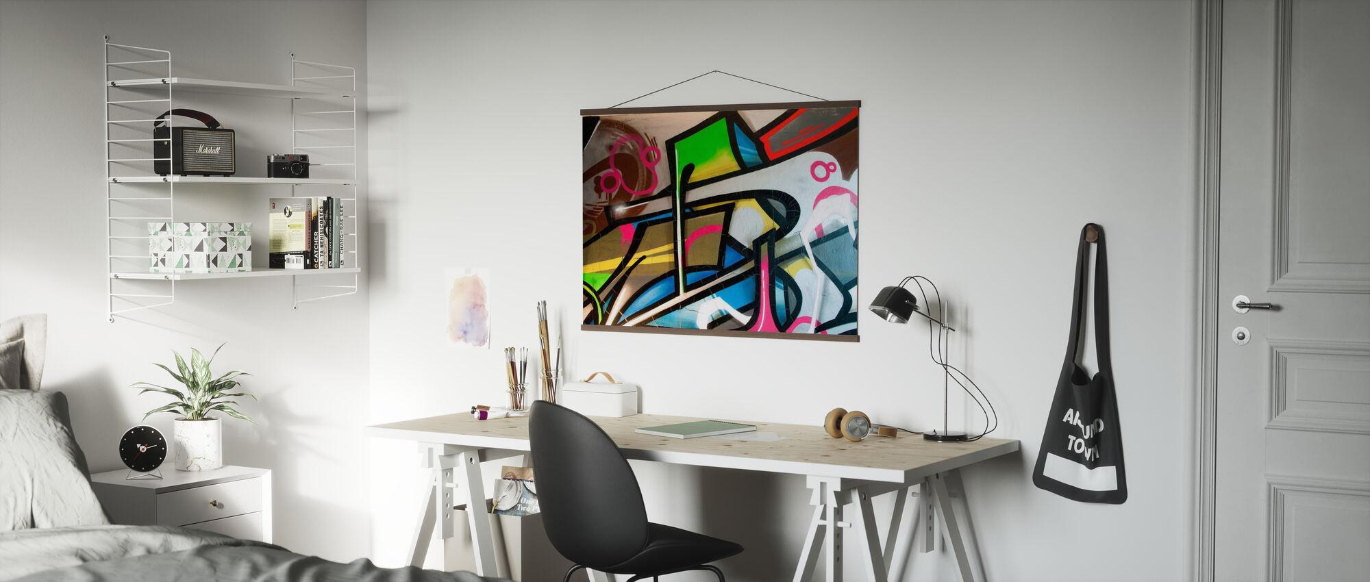 Graffiti colorati - Poster - Uffici