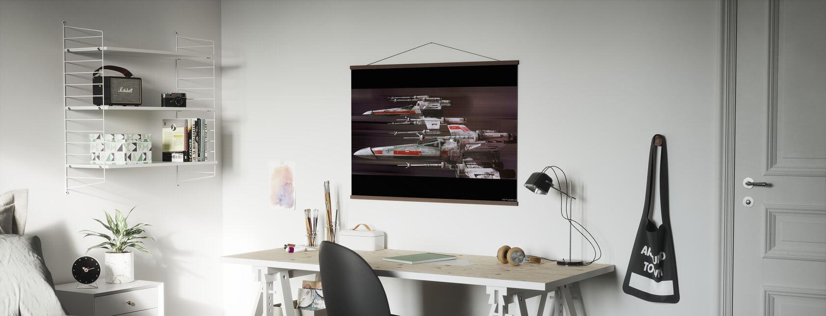 Star Wars - X-siipi - Juliste - Toimisto