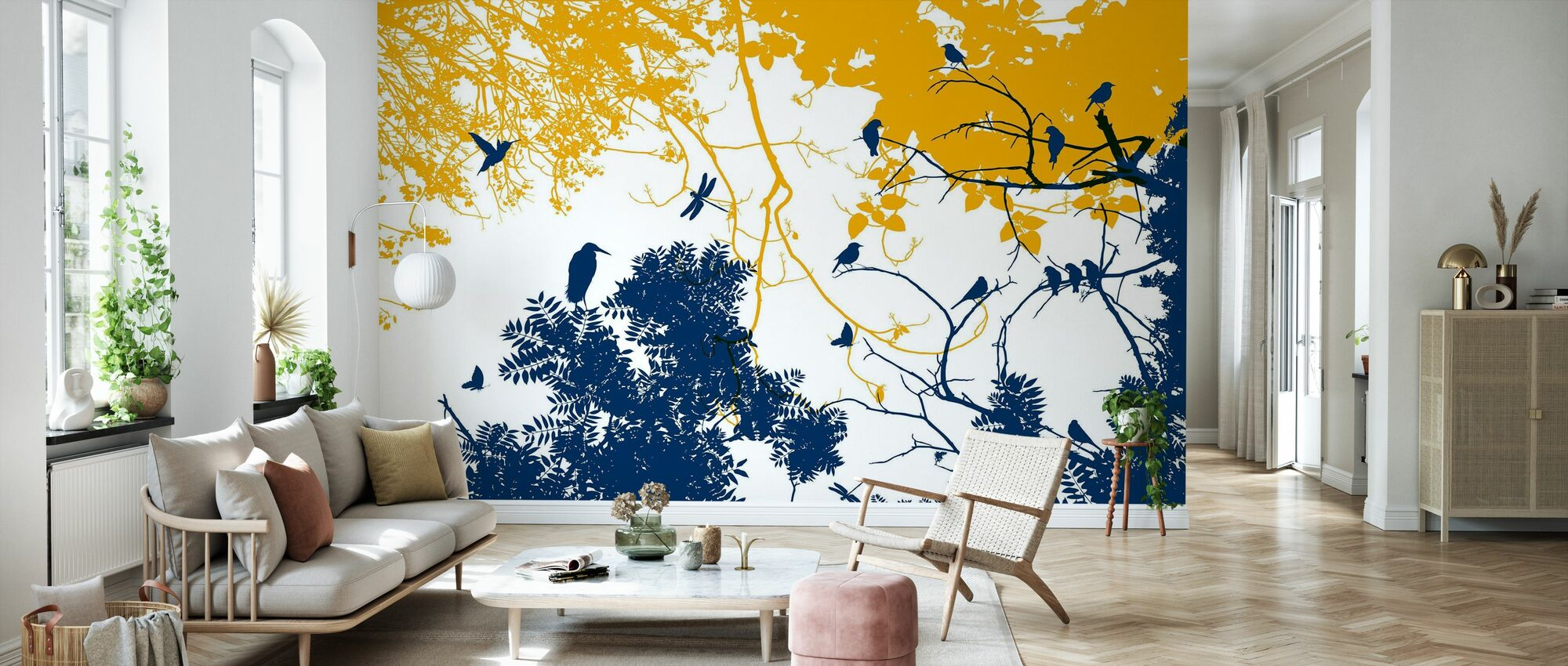 Silhouetto - Wallpaper - Living Room
