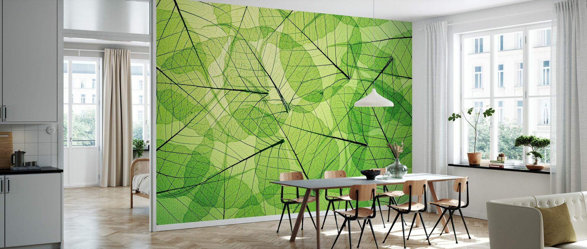 Grüne Harmonie - Tapete - Küchen