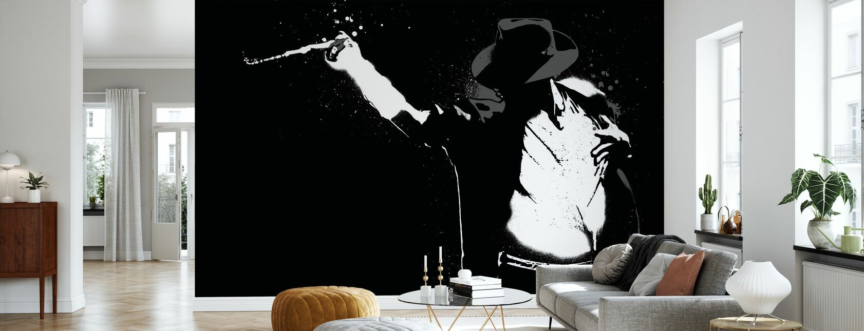 Jackson - Wallpaper - Living Room