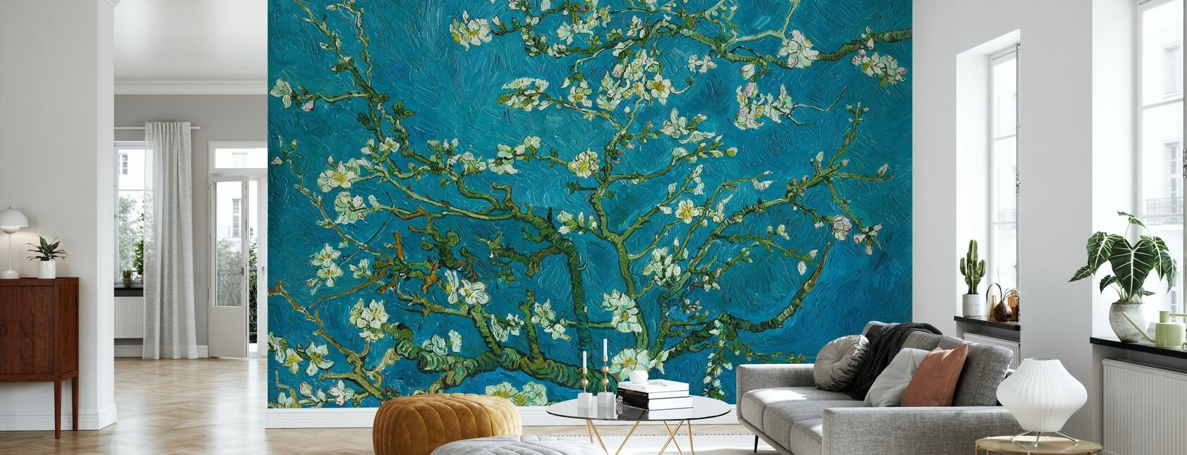 Almond Blossom - Wallpaper - Living Room