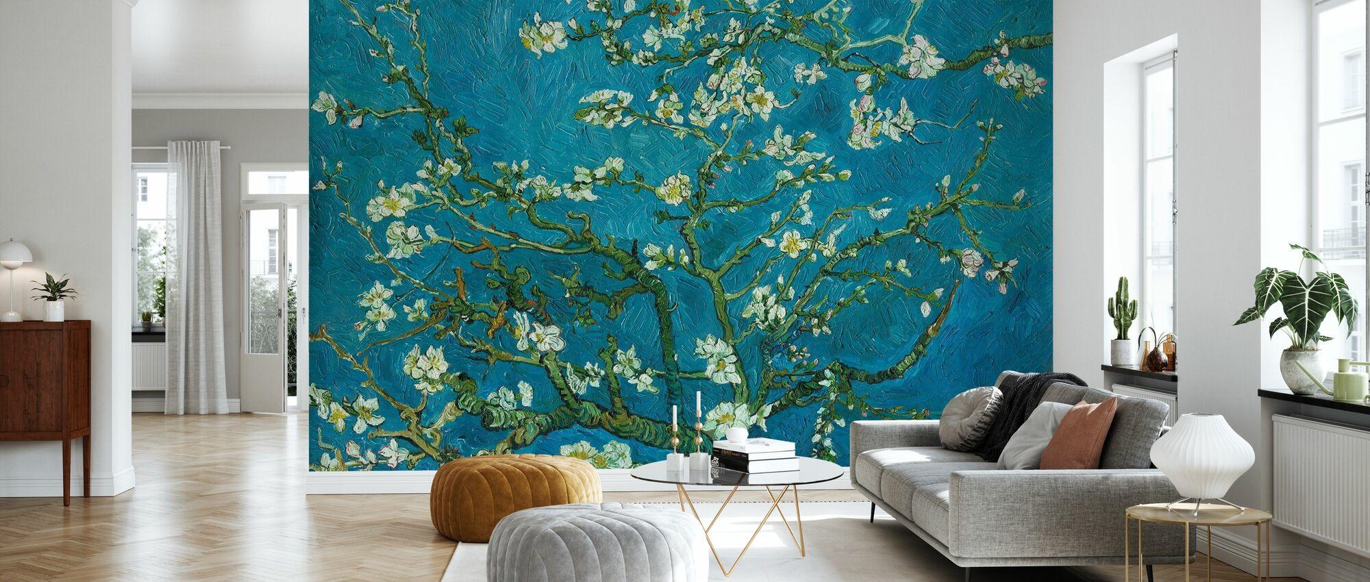 Almond Blossom - Wallpaper - Living Room