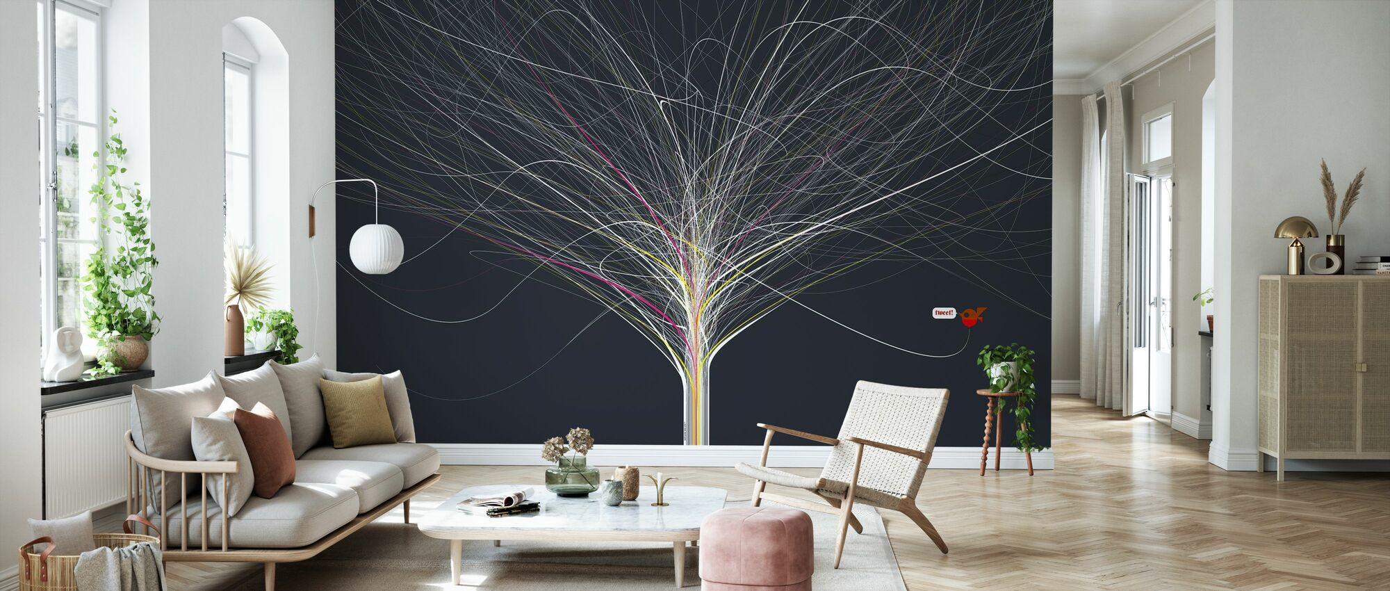 Build - Singing Singing Tree - Wallpaper - Living Room