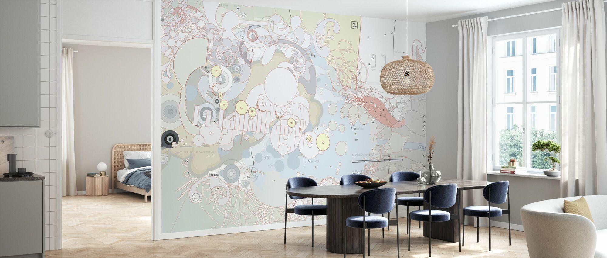 Joshua Davis - Ouaf - Wallpaper - Kitchen