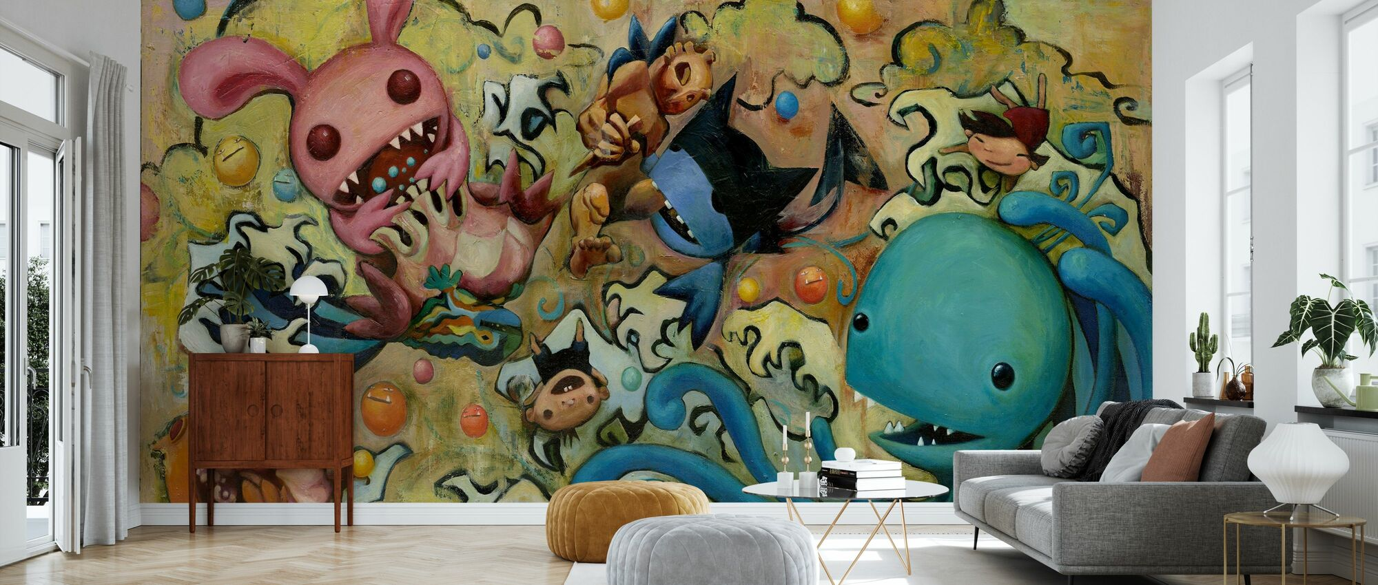Mari Inukai - Espagneifuku - Papier peint - Salle à manger