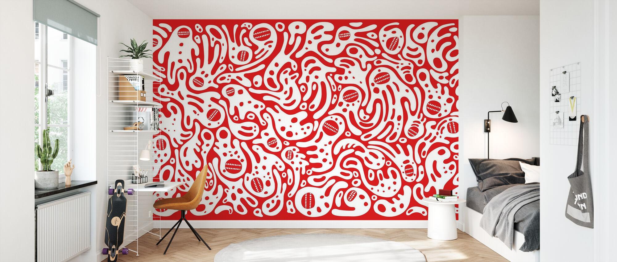 DT Wall1 - Papier peint - Chambre des enfants