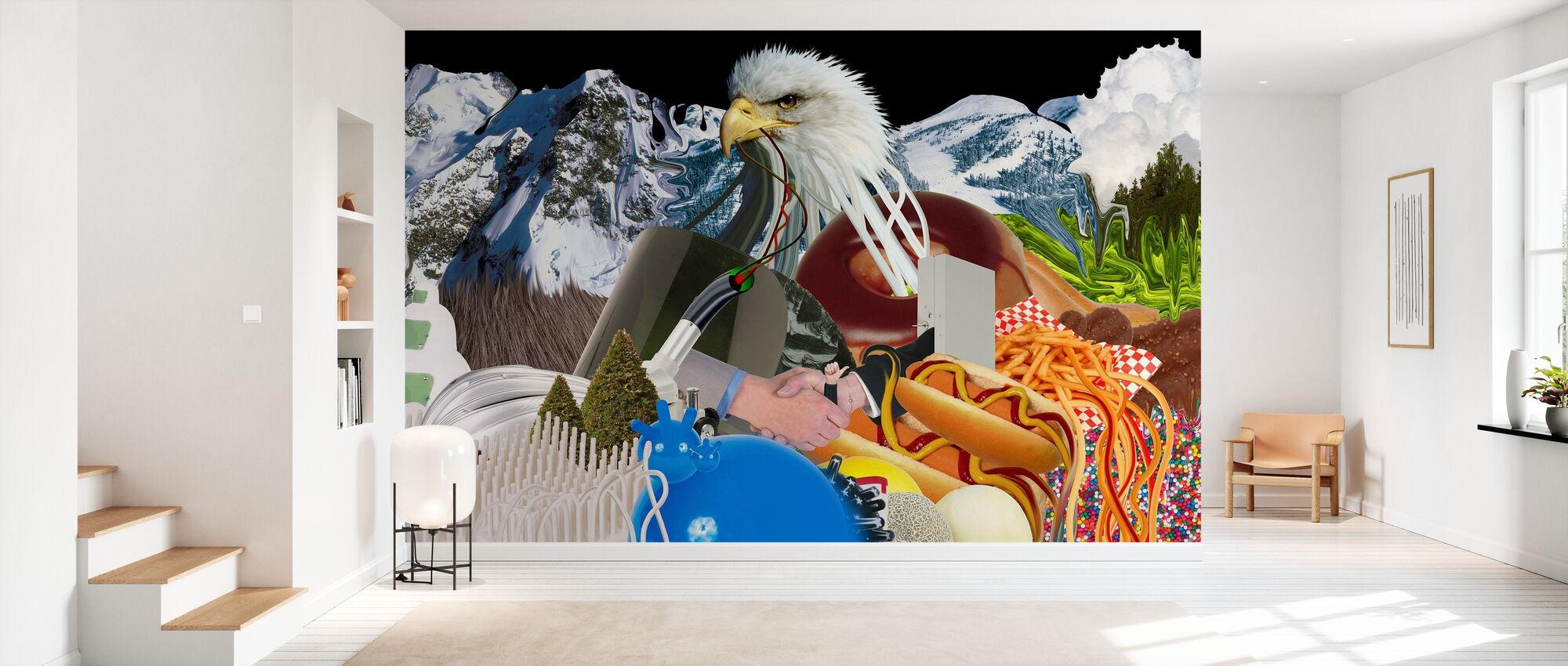 Tout universel - Eaglemountain - Papier peint - Entrée