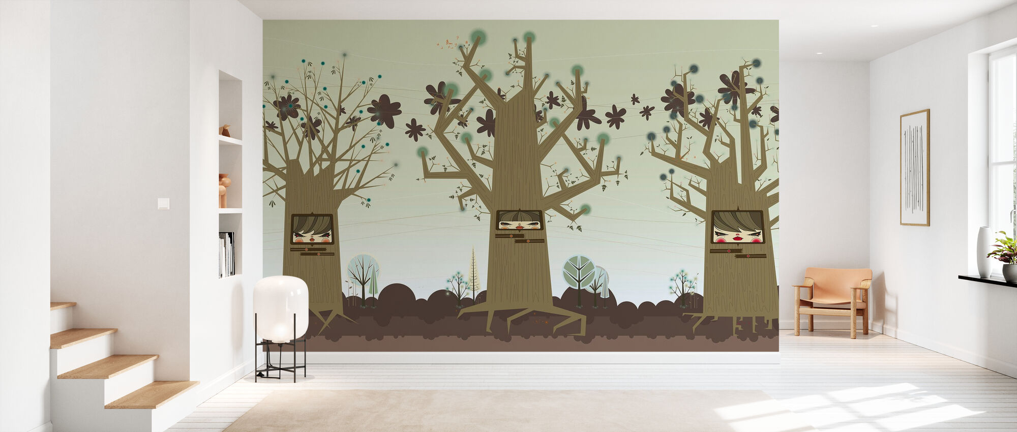 Daytime - Wallpaper - Hallway