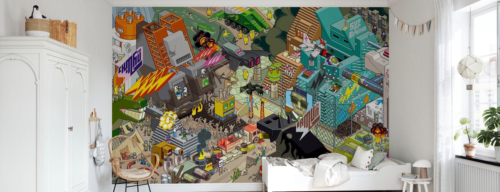 eBoy - Mxl Inka - Papier peint - Chambre des enfants