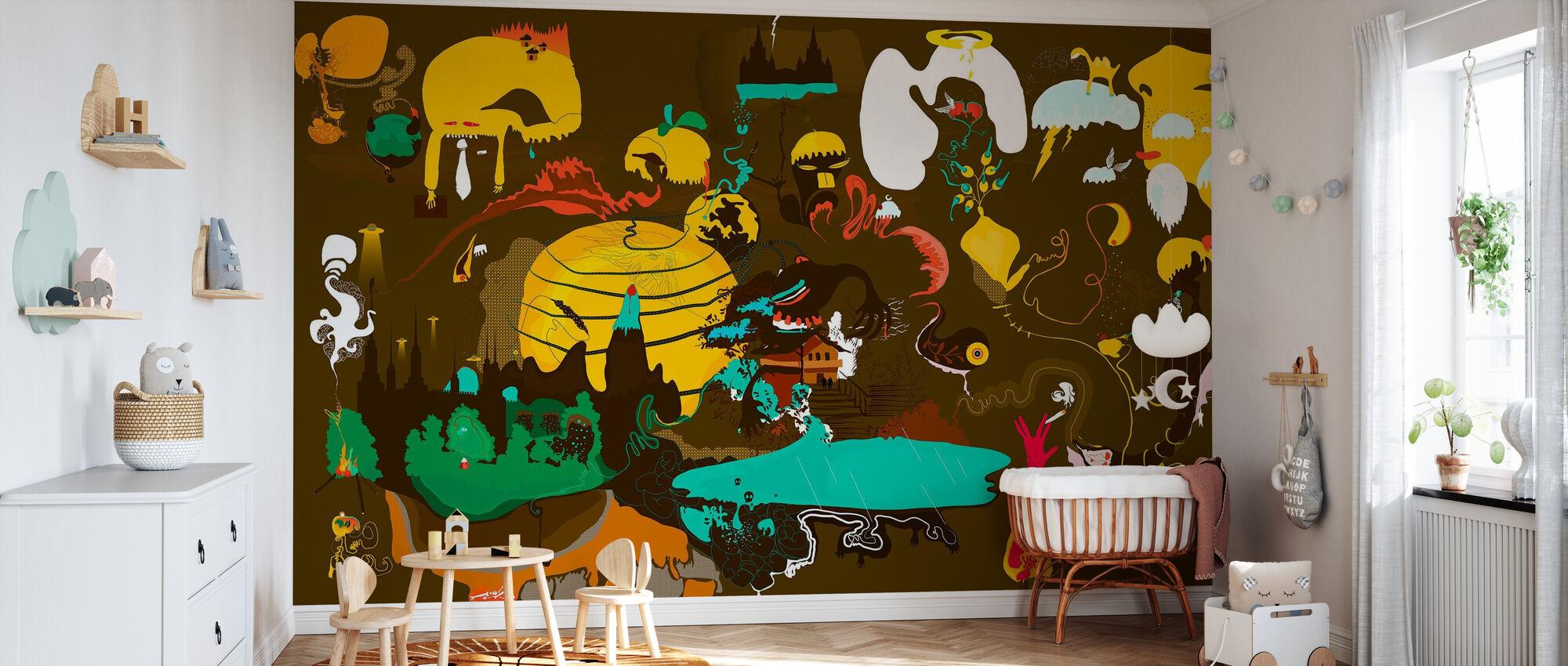 One Tall Tale - Wallpaper - Nursery