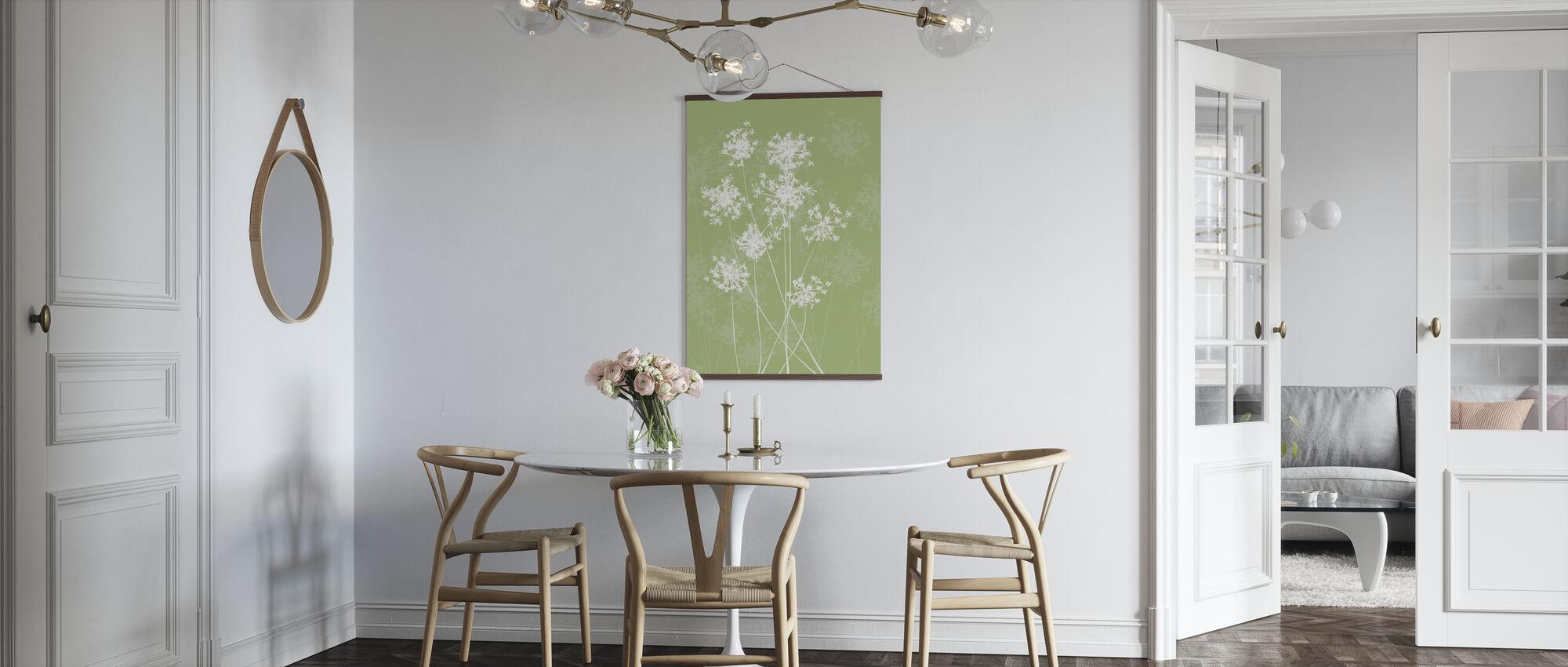 Dandelions - Green - Poster - Kitchen