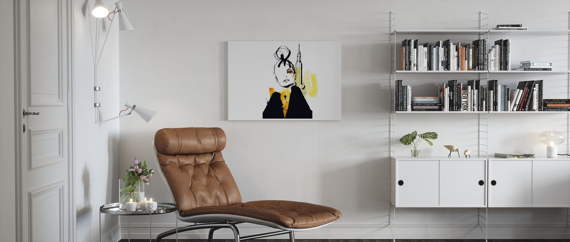 New York - Canvas print - Living Room