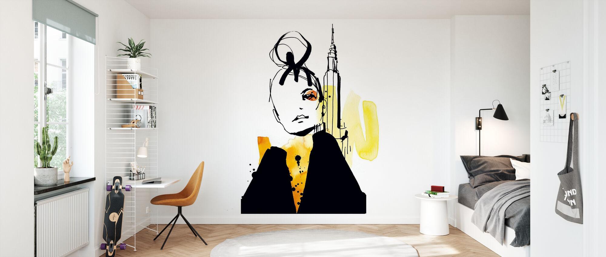 New York - Wallpaper - Kids Room