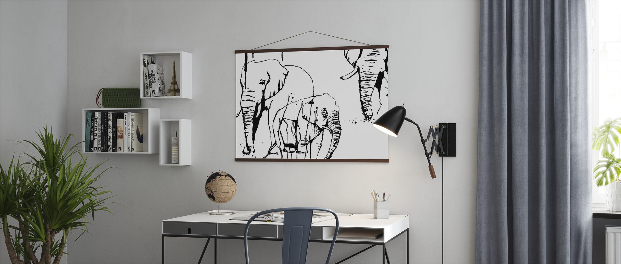Elephant - Poster - Office