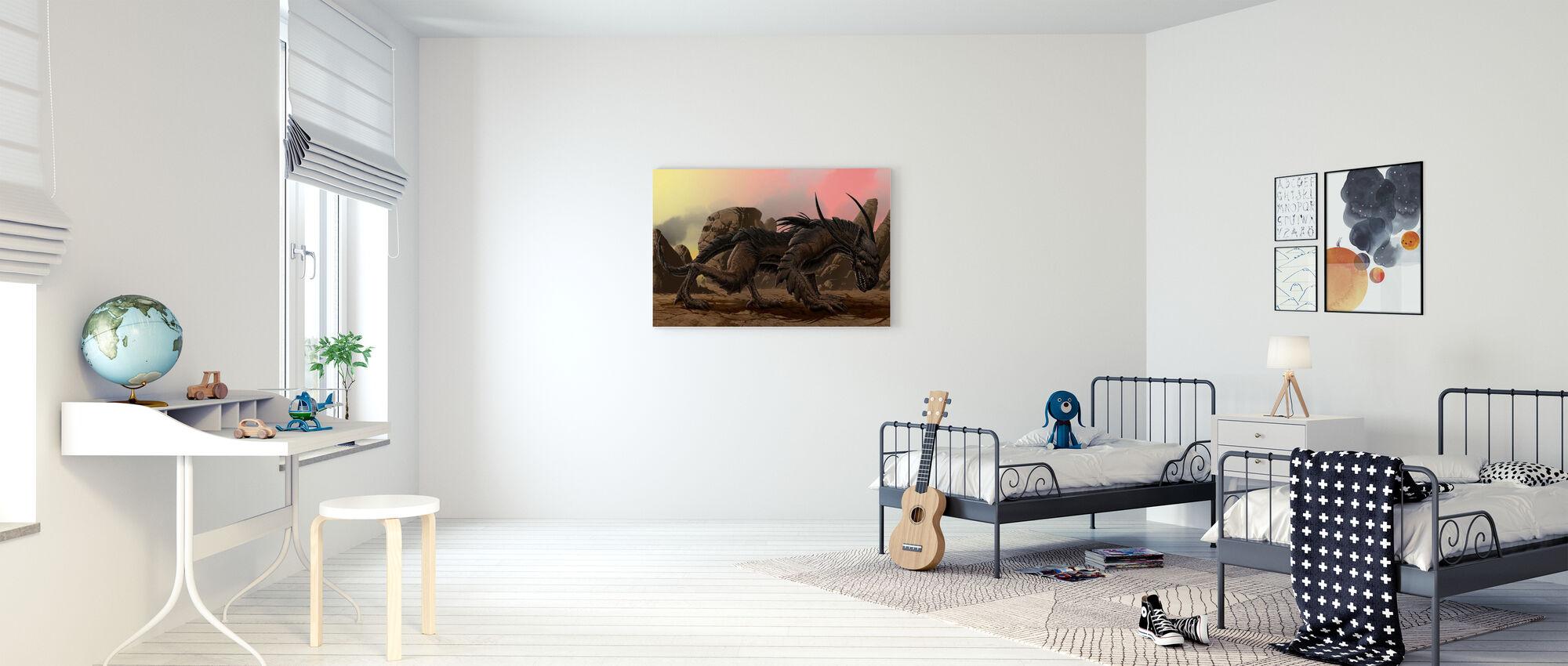 Dracor - Canvas print - Kinderkamer
