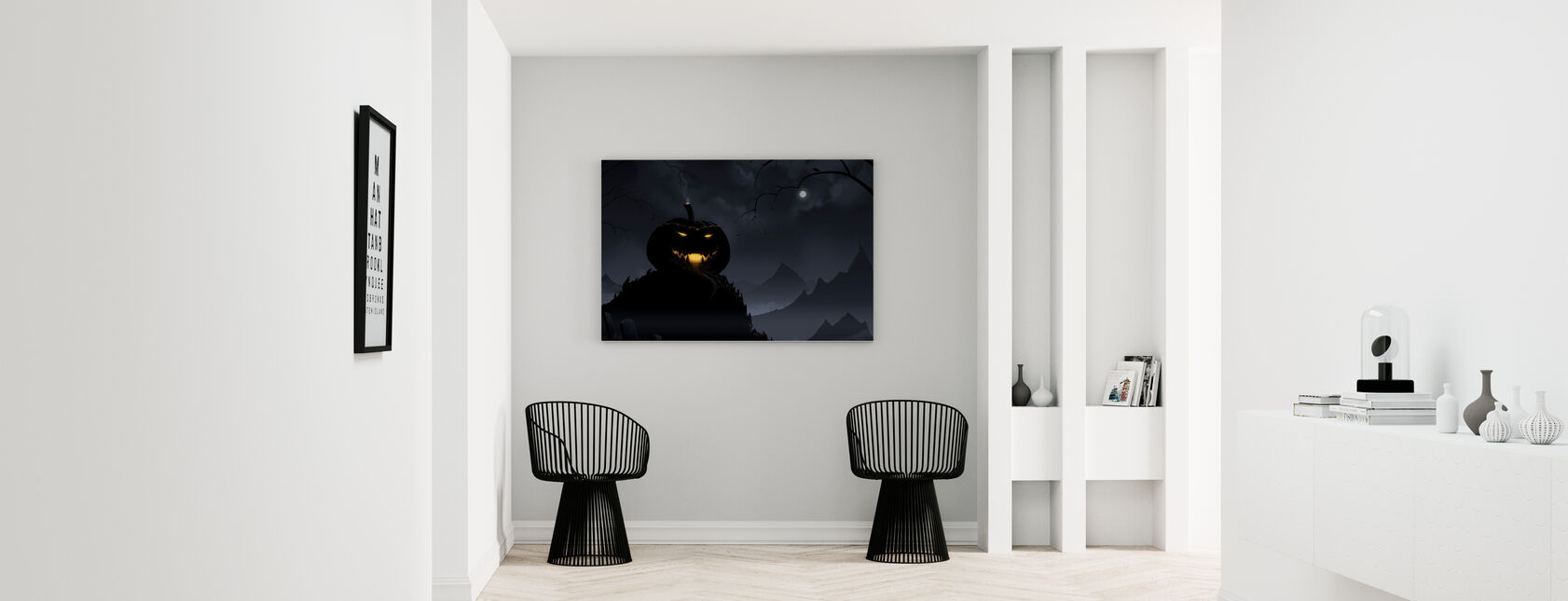 Pumpkin Castle - Canvas print - Hallway