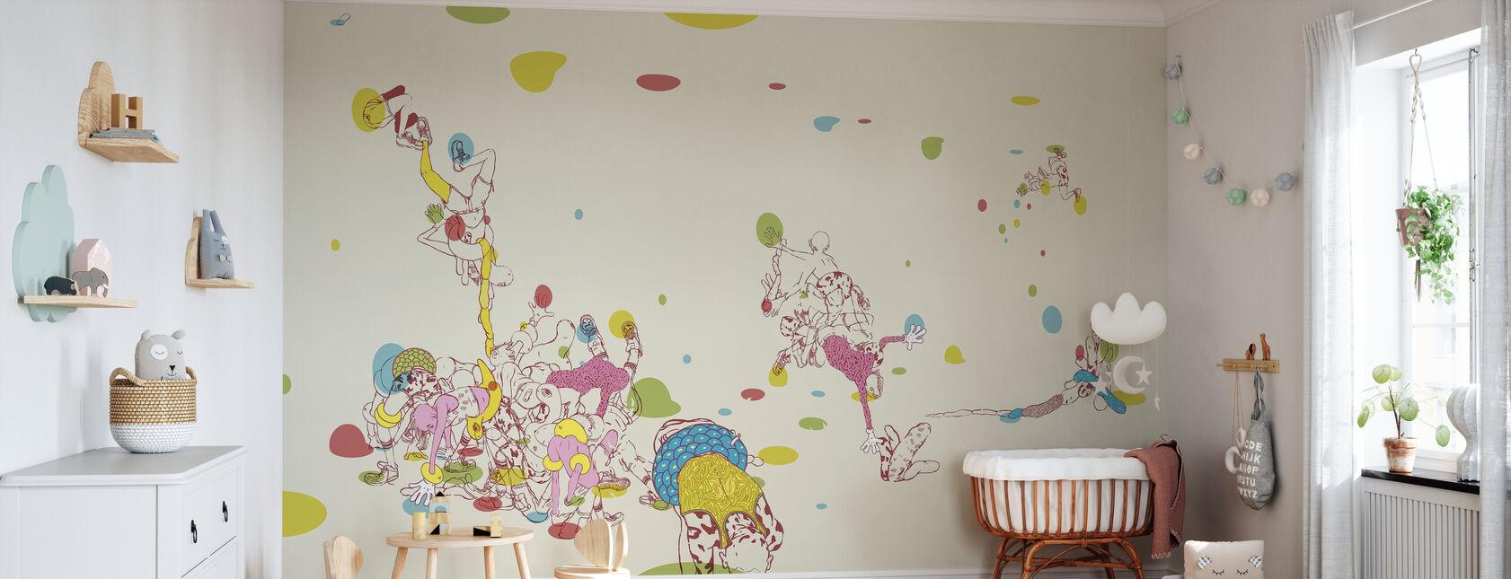 Hip Twist - Wallpaper - Nursery