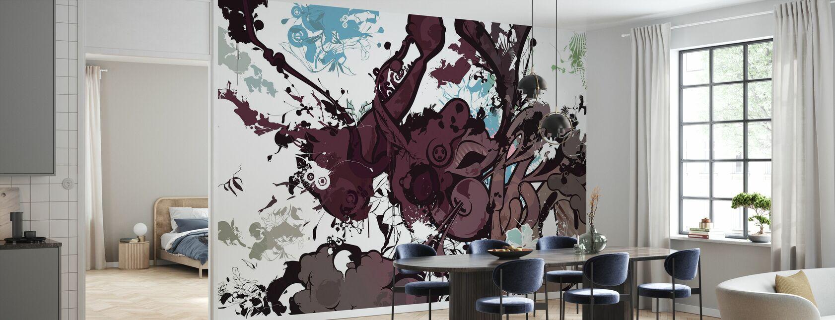 Baruserona Walls - Papier peint - Cuisine