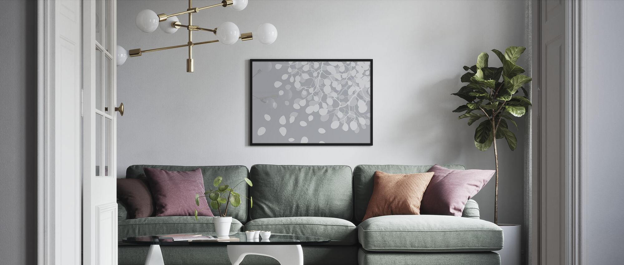 Birch Asphalt - Poster - Living Room