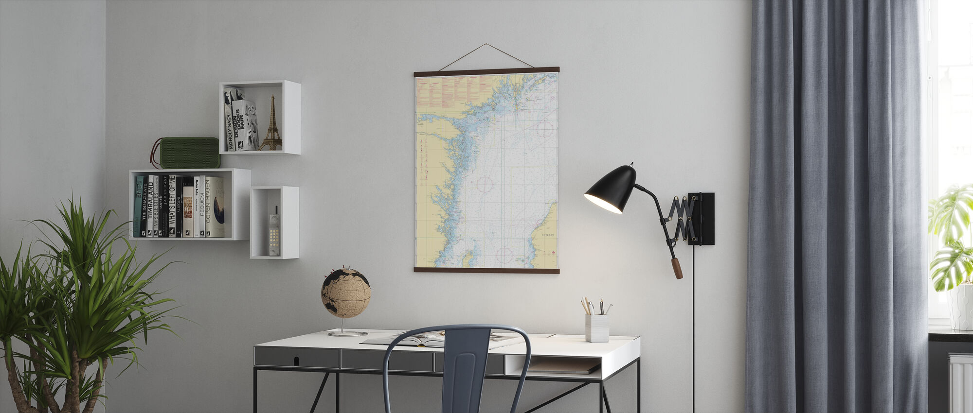 Sea Chart 72 - Oland - Landsort - Poster - Office