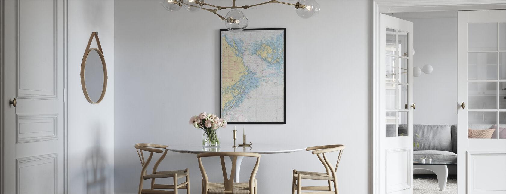 Havsdiagram 61 - Landsort - Alands Hav - Poster - Kök